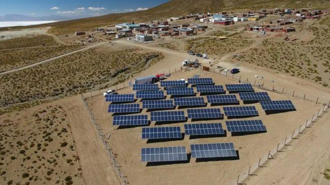 """Jujuy: Localidad El Angosto será desde hoy """"pueblo solar"""""""