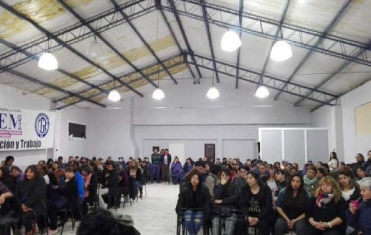 Río Turbio: Los municipales llevaron adelante una medida de fuerza