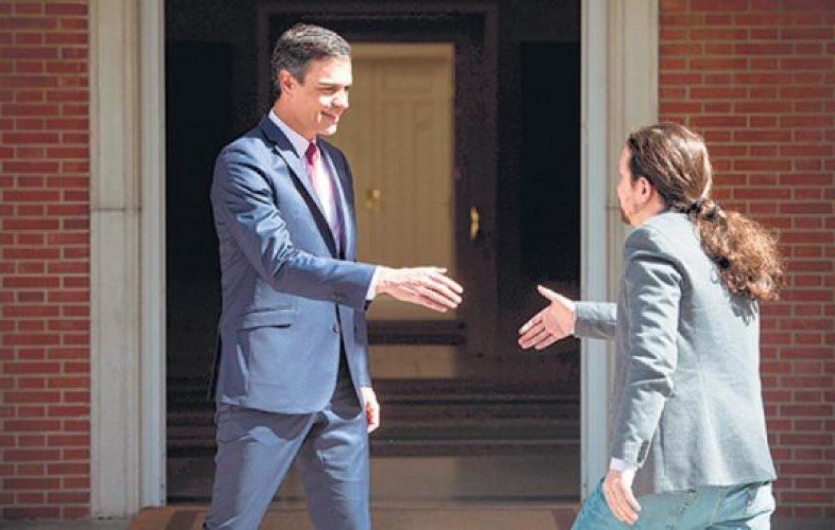 España: Pablo Iglesias y Pedro Sánchez abren el juego