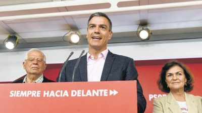 España: El PSOE gana, pero la derecha sigue viva