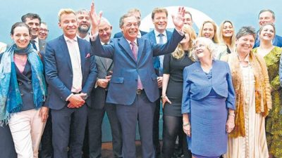 El Partido del Brexit fue el claro ganador