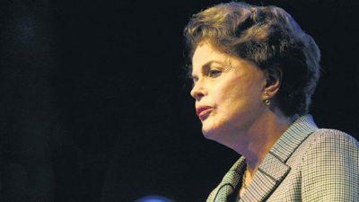 """Dilma Rousseff: """"Estos tiempos nos exigen, ante todo, coraje"""""""