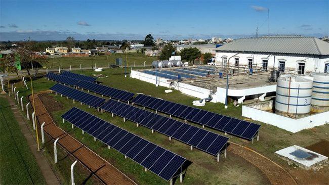 Gualeguaychú inaugura el primer parque solar municipal