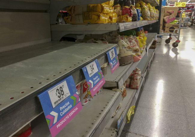 En Mendoza sólo se consigue la mitad de los productos de Precios Esenciales