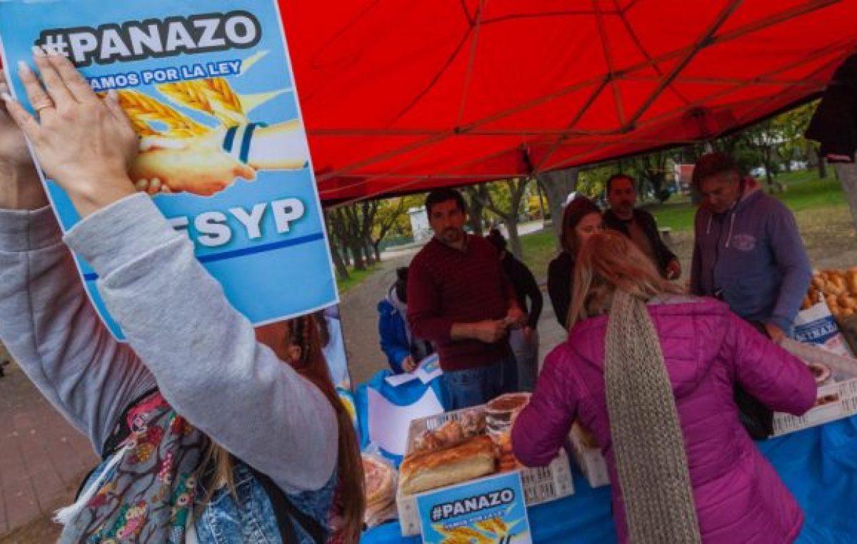 """""""Panazo"""" en Viedma: Vendieron el kilo de pan a 35 pesos"""