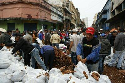 Nuevas protestas de campesinos paraguayos contra el gobierno