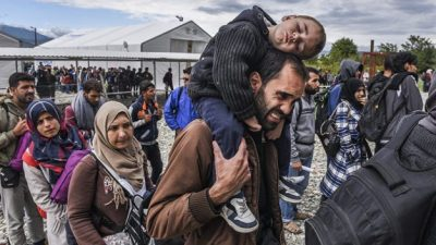 La crisis de refugiados crece a escala global