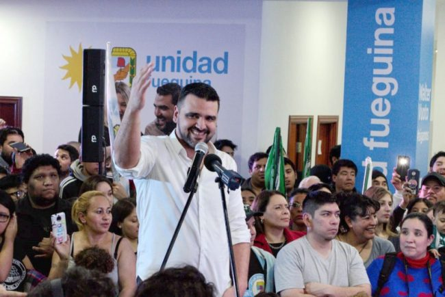 """Walter Vuoto (Ushuaia): """"Hicimos una elección histórica"""""""