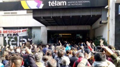 Sesenta y ocho reincorporados en Télam