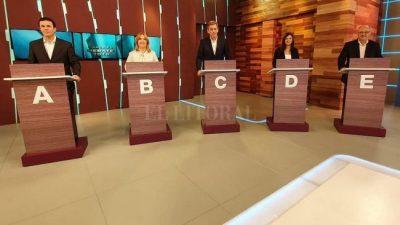Santa Fe: El debate de candidatos a intendente tuvo propuestas, cruces y un cierre picante