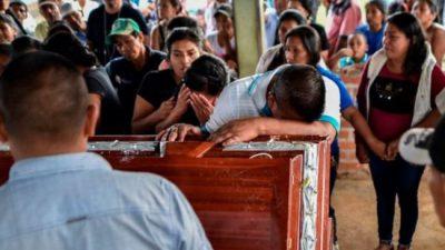 Otra líder social asesinada en Colombia
