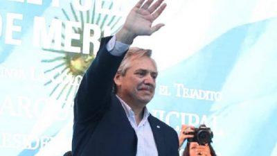Alberto Fernández criticó ante funcionarios del FMI los exorbitantes préstamos al gobierno de Macri