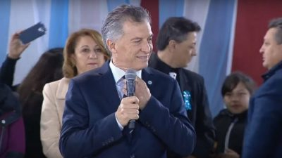 ¿Yo, señor? No, señor: Macri culpó a los Moyano por el índice de desocupación