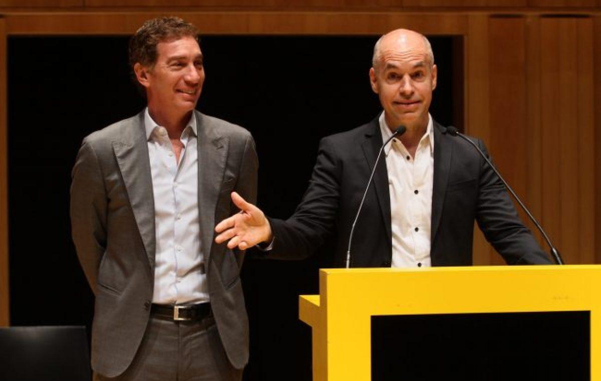 Larreta y Santilli van por la reelección en la Ciudad de Buenos Aires