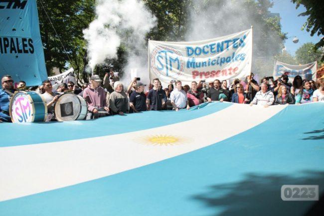Docentes municipales de Mar del Plata levantan la retención de tareas