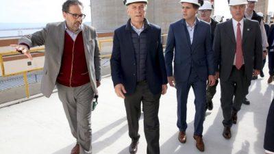 Macri en Calamuchita: «blindado» en Embalse, abierto en Los Cóndores