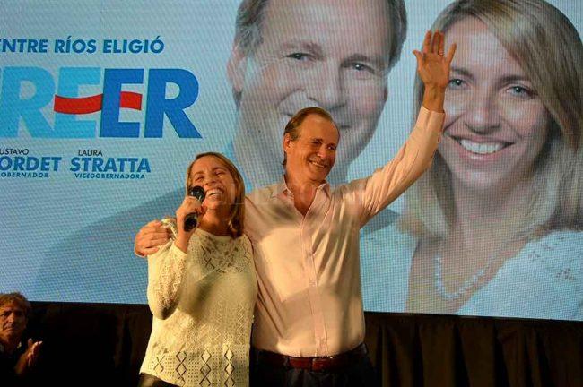 Bordet es el gobernador de Entre Ríos más votado desde la vuelta de la democracia
