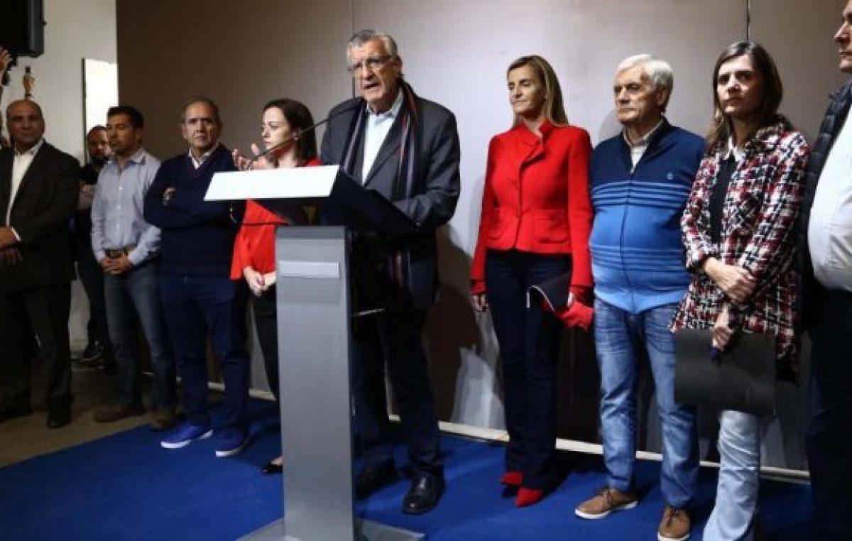 «Un peronista no puede apoyar la entrega del país»