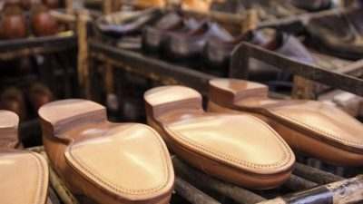 Caída de la producción de calzados