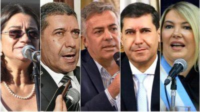 Cinco gobernadores buscarán llegar al Congreso