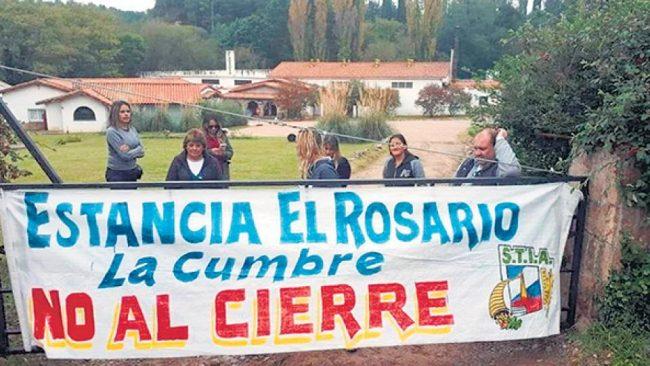 La fábrica de alfajores Estancia El Rosario de La Cumbre despidió al 80% de sus trabajadores