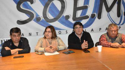 El SOEM rechaza la contratación de 22 trabajadores en la municipalidad de Santa Rosa, La Pampa