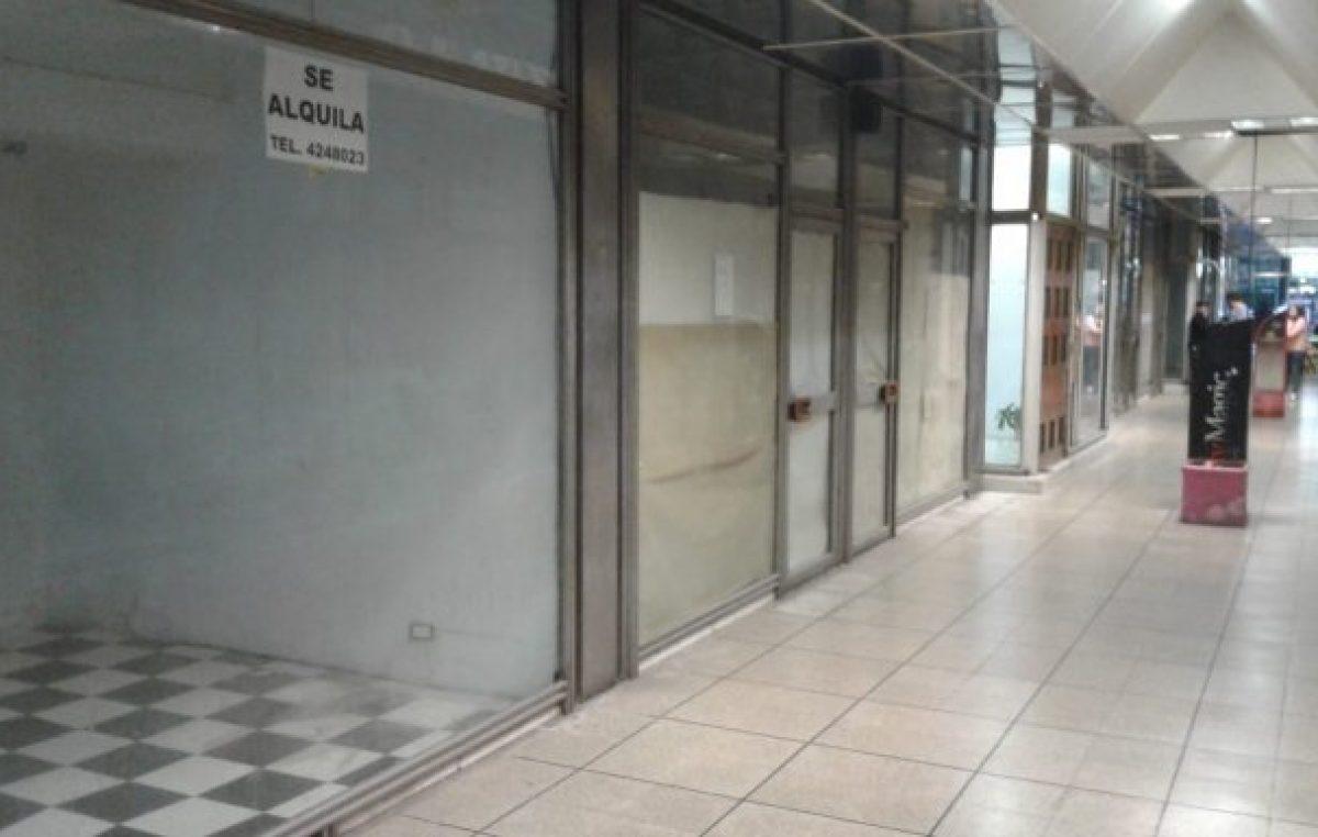 Rosario: Advierten que «el cierre de locales comerciales creció un 15 por ciento en el último año»