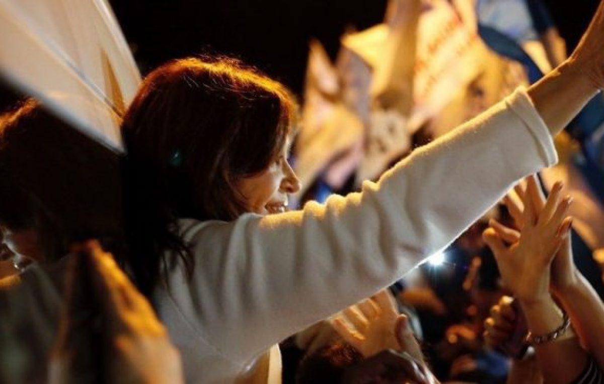 Cristina en Resistencia