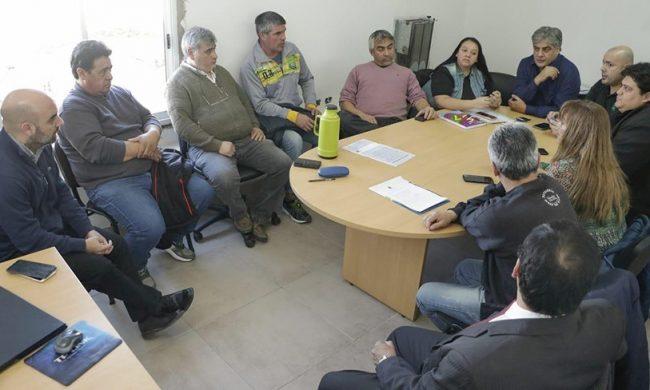 Los gremios no aceptaron la oferta salarial del municipio de Rawson