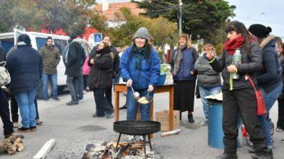 Rawson: trabajadores municipales volvieron al paro
