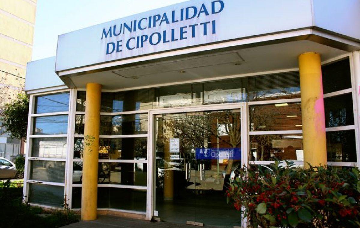 Cipolletti: Casi un centenar de municipales podrían pasar a planta este miércoles