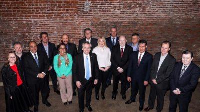 Alberto Fernández se reunió con los gobernadores peronistas