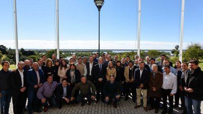 El Gobernador de Entre Ríos convocó a intendentes electos y puso a disposición las herramientas de la provincia