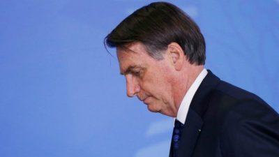 Bolsonaro: el «mesías» en descenso
