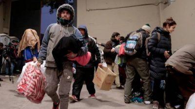 Campaña solidaria en River. Macri se enojó con D`Onofrio
