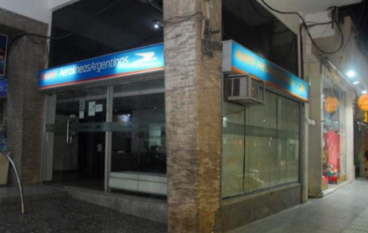 Catamarca: Empresa tercerizada de Aerolíneas presentó procedimiento de crisis