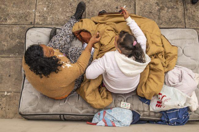En Trelew crece el número de personas en situación de calle y por ser desalojados