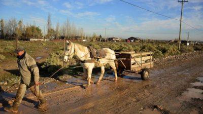 Colonia Rural Nueva Esperanza: Un barrio que sobrevive al costado de Vaca Muerta