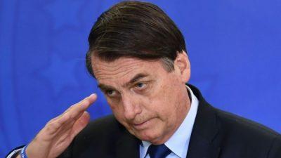 Bolsonaro con récord de imagen negativa