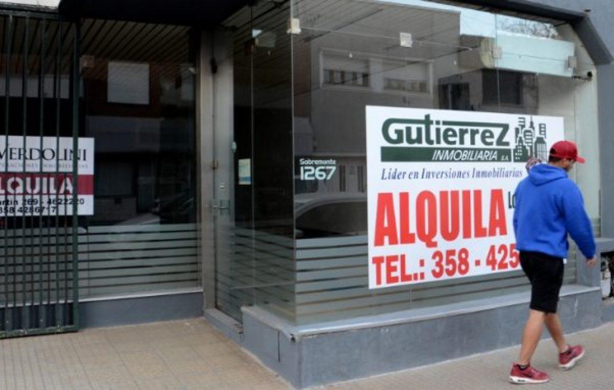Río Cuarto: Los locales tardan en ocuparse hasta 6 meses, el doble que antes