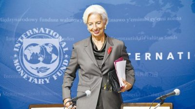Lagarde dejará el FMI y asumirá el control del Banco Central Europeo