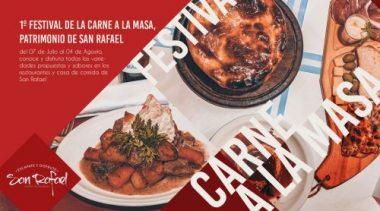 La carne a la masa tiene su festival en San Rafael