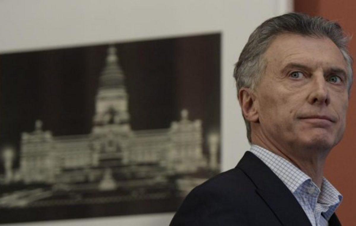 Macri no hizo ninguna autocrítica