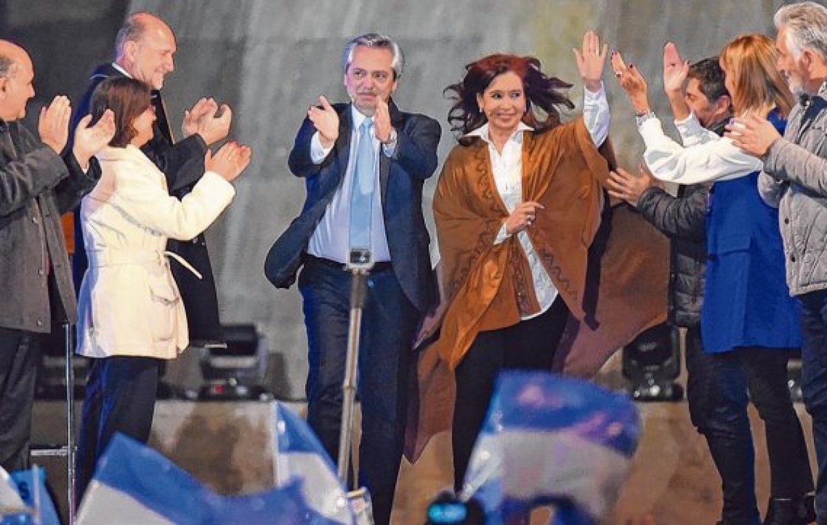 Fernández prometió levantar al país en el «primer semestre» de gestión