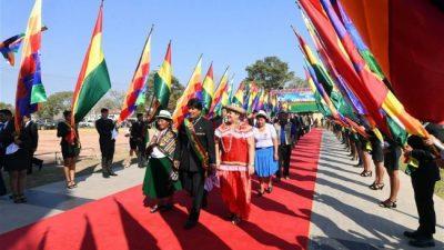 Evo Morales: El modelo económico boliviano creó en un año 341.000 nuevos empleos