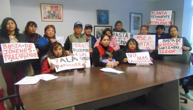 Jujuy: Piden reincorporación de trabajadores municipales