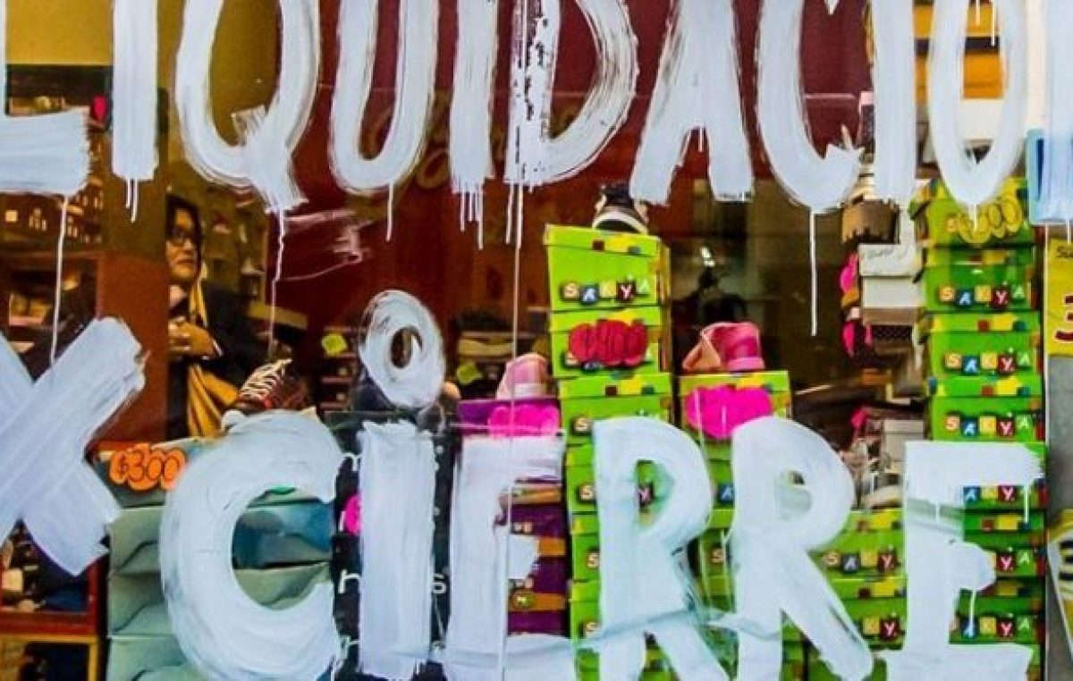 Metán: Cerró el 8% de los comercios y el 46% está en jaque por la falta de ventas