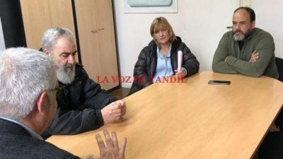 Primera reunión por el bono solicitado por los trabajadores municipales de Tandil