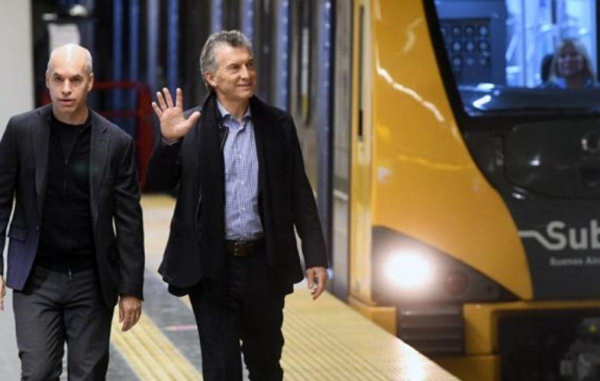 Rodríguez Larreta, lo más lejos posible de Macri