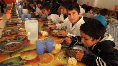 El 40 por ciento de los niños del Conurbano asiste a comedores y el 15 por ciento pasó hambre